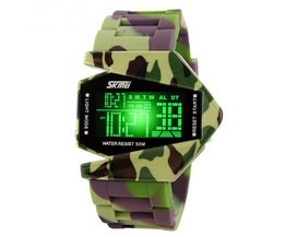 LED Camouflage Montre