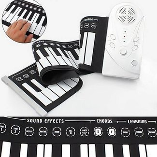 Roll-Up Keyboard And Piano In One