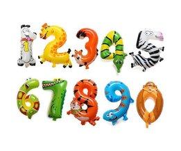 Foil Ballons Animaux Et La Notation Des Propos 41Cm
