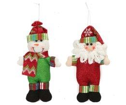 Père Noël Ou Bonhomme De Neige Décoration