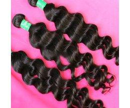 Extension Brésilienne Des Cheveux Humains