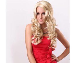 NAWOMI Perruque Avec Curls Blonde