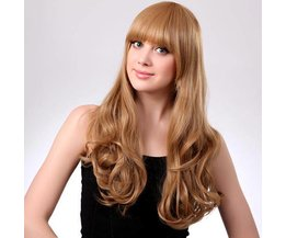 Perruque Synthétique Blonde