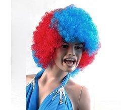 Afro Perruque Pour Les Amateurs De Sport