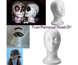 Head Of Styrofoam