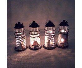 Pour Une Lanterne À Bougie Sous Une Forme Lighthouse