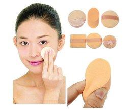 Éponges De Maquillage Set De 3 Pièces