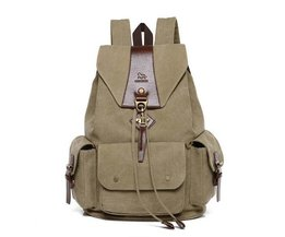 Hommes Canvas Backpack Grand