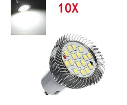 GU10 LED Spotlights Pures White Light 10 Pieces