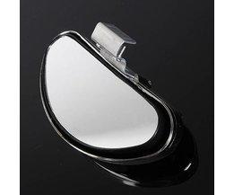 Universal Argent Blind Spot Miroir Pour Voiture