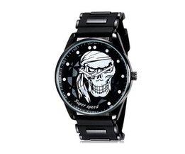 V6 SuperSpeed montre Avec Skull