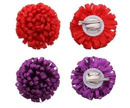 Cheveux Clip & Broche Avec Fleur