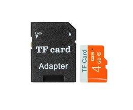 4GB Carte SD Avec Adaptateur