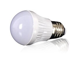 E27 3W LED Blanc Et Blanc Chaud