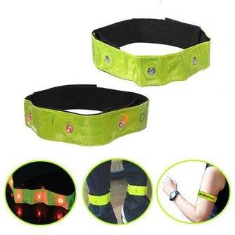2Pcs Bracelet LED Neon