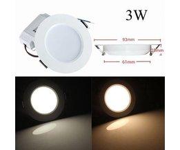 3W LED Plafonnier