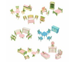 Kit Miniatures Dollhouse Bois