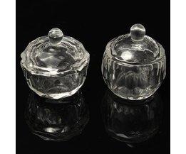Pot En Verre Acrylique Pour Liquide