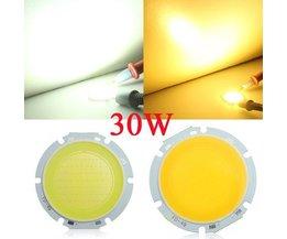 30W COB LED Chip Pour Ceiling Light Round