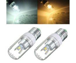 E27 180-300LM Lampe LED Blanc / Blanc Chaud 3W 85-265V