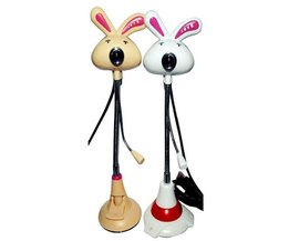 Mini Webcam Avec Design Lapin