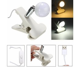 2W Lampe LED USB Avec Clip
