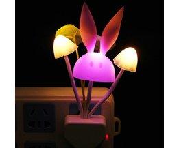 LED Champignon Veilleuse Romantique