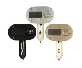 Transmetteur FM LCD Pour USB Et Mains Libres