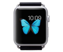 Momax Band Bracelet En Cuir Pour Apple Montre