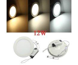 Lampe De Plafond Ronde 12W LED