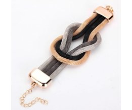 Bracelet Avec Tresse Design En Plusieurs Couleurs