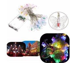 LED-Schnur Mit Dem Schmetterlings-Lampen