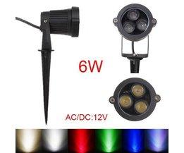 6W LED Spot Zu Fuß Für Außen