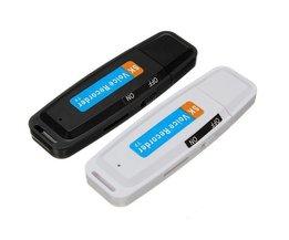 USB-Mini-Diktiergerät 32G