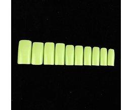 500 Nagel Tips Grün