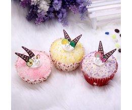 Gefälschte Cupcake