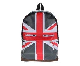 Rucksack Mit Englische Flagge