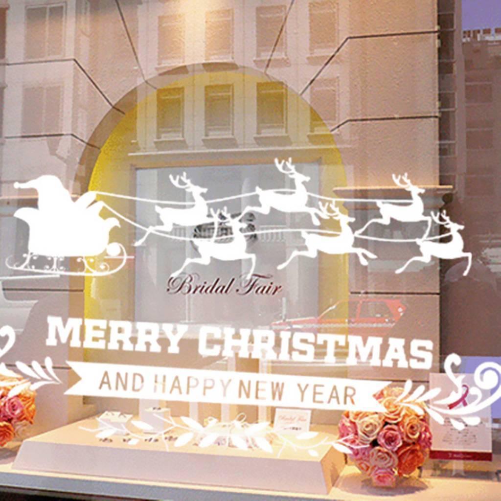 frohe weihnachten fenster aufkleber kaufen pvc ich. Black Bedroom Furniture Sets. Home Design Ideas