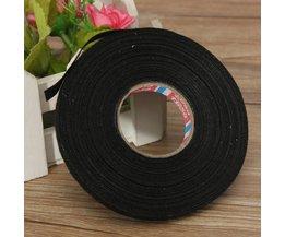 Schwarz Textil-Klebeband