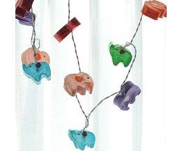 LED-Licht-Schnur Mit 20 Elefanten 3M