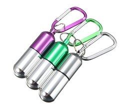 Key Mit Medikamenten Box Aus Aluminium