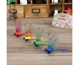 Bunte Libellen-Magnet