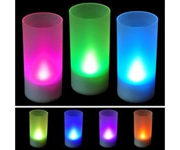 LED-Kerze Mit Verschiedenen Farben