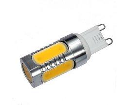 LED G9 7 Watt-Warmes Weißes Licht