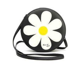 Nette Runde Sunflower-Umhängetasche