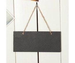 Mini Chalk Platte Mit Seil