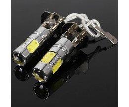 H3 LED-Lampe Cree Cob 360 Für Den Auto