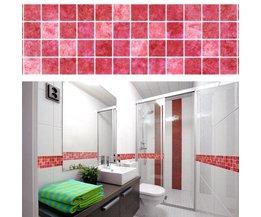 Mosaik-Wandaufkleber Für Badezimmer 5 Meter