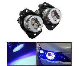 Angel Eyes LED Blaue Lichter Für BMW E90 Und E91