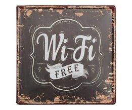 Metals 'Free WiFi' Teller